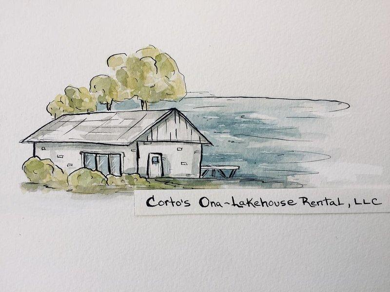 Corto's Ona-Lakehouse Rental, LLC is a Lakefront Vacation Rental Home, vacation rental in Coon Valley
