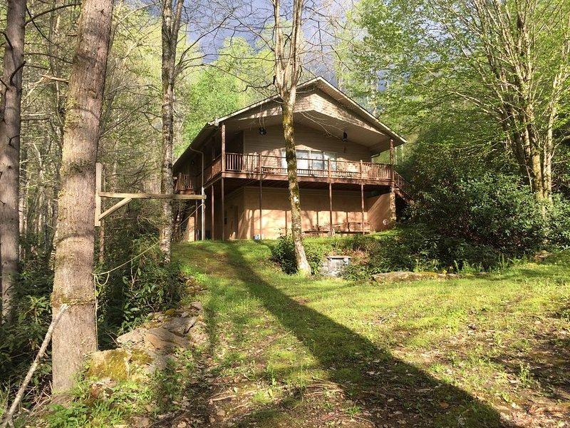 Black Bear Cottage by the Creek, location de vacances à Barnardsville