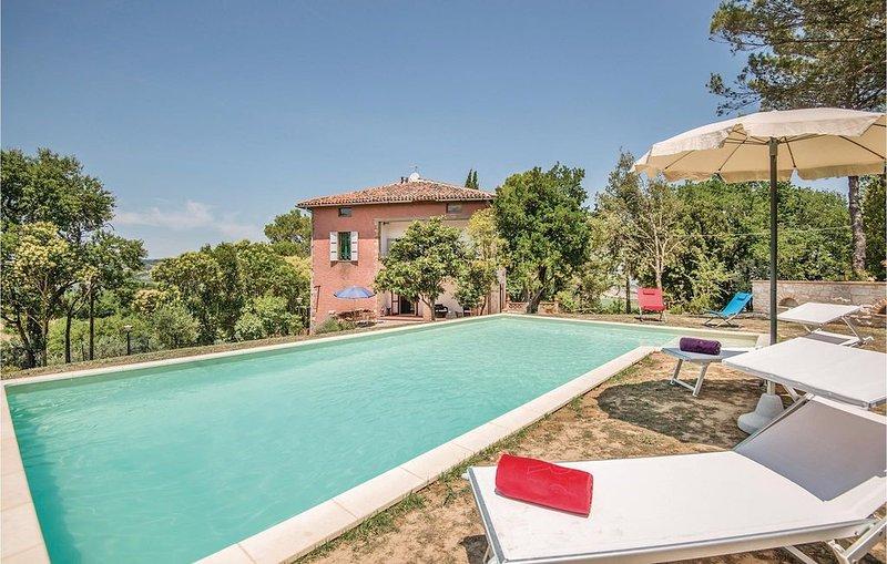 3 Zimmer Unterkunft in Monte Castello Vibio, holiday rental in Fratta Todina