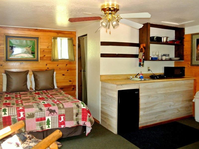 CABIN #2 - FOX'S LAIR (FIREPLACE), holiday rental in Forest Lakes