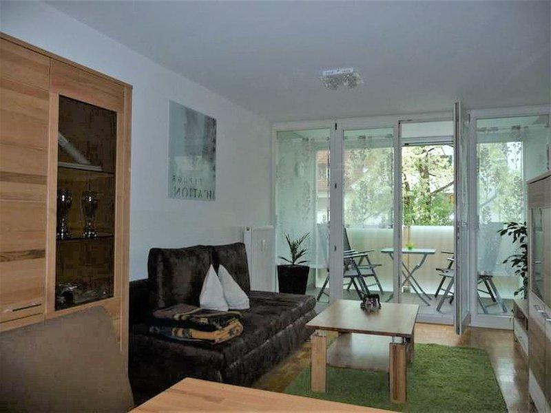 Ferienwohnung 4you, 60qm, 1 Schlafraum, Balkon, max. 4 Personen, holiday rental in Langenegg