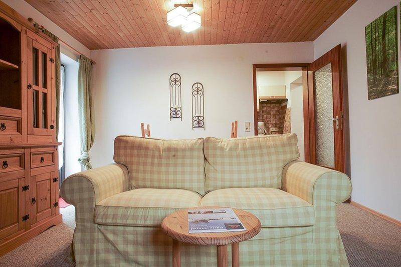 Ferienwohnung 6 Fichte, 35qm, 1 Schlafzimmer, max. 2 Personen, holiday rental in Sankt Blasien