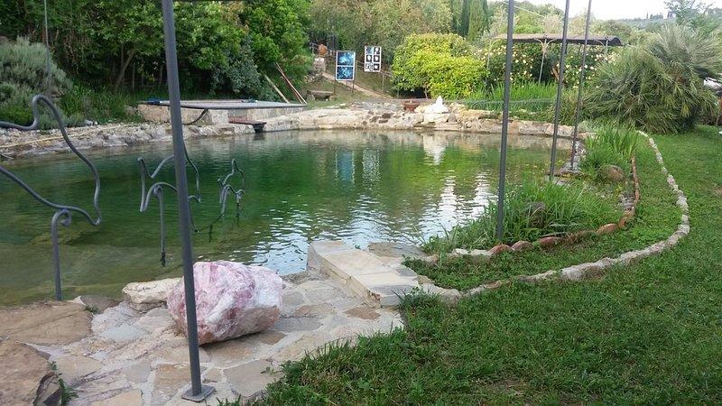 Florenz -Toskana-Kultur- Natur-Genuss- Ruhe+ Entspannung., vacation rental in Molino del Piano