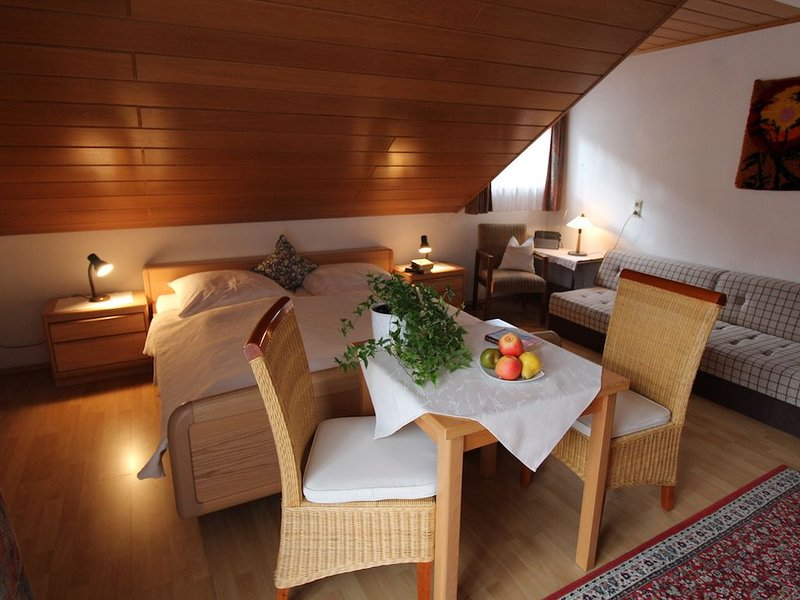 Ferienwohnung Typ A, 46qm, 1 Schlafzimmer, max. 3 Personen, holiday rental in Bad Rippoldsau-Schapbach