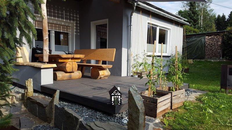 Kleines Ferienhaus in ruhiger Lage, location de vacances à Marienberg