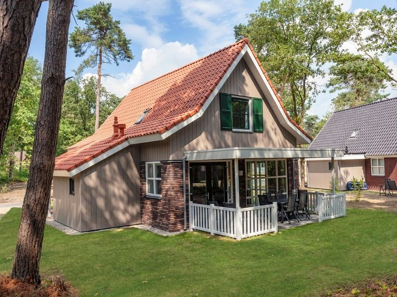 Luxus 6-Personen-Ferienhaus im Ferienpark Landal De Vers, holiday rental in Elsendorp
