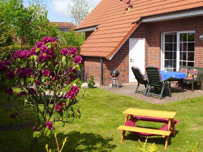 Liebevoll ausgestattetes Ferienhaus für Entspannung und Erholung jetzt mit W-Lan, vacation rental in Nessmersiel