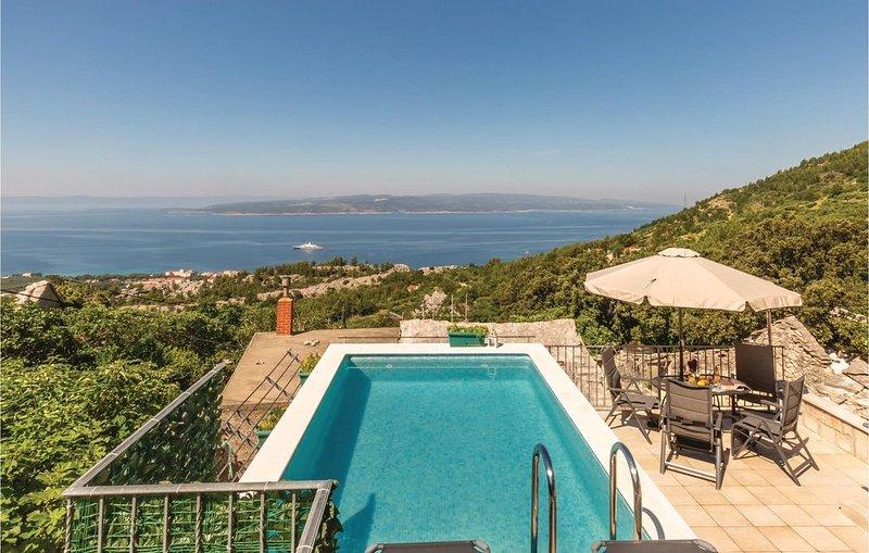 3 Zimmer Unterkunft in Baska Voda, holiday rental in Bast