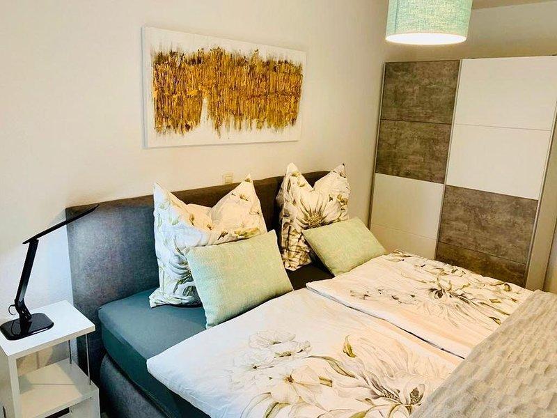 Ferienwohnung, 50qm mit Gartenterrasse, 1 Schlafzimmer, max. 3 Personen, holiday rental in Bregenz