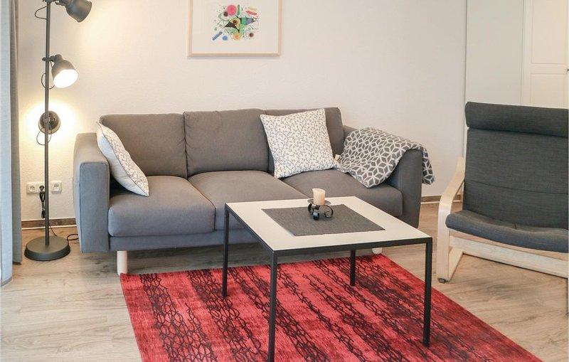 1 Zimmer Unterkunft in Graal-Müritz, holiday rental in Klockenhagen
