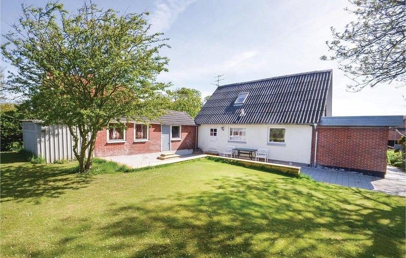 4 Zimmer Unterkunft in Nykøbing M, casa vacanza a Hvalpsund