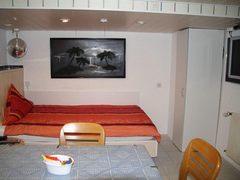 Gästezimmer 25qm, mit Küche und Bad, Ferienwohnung in Augst