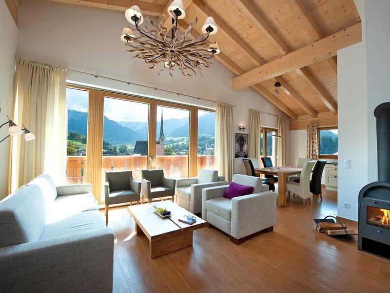 Apartment, Sauna, familienfreundlich, für 6-8 Pers, Nähe Bergbahn, gratis WLAN, vacation rental in Maria Alm