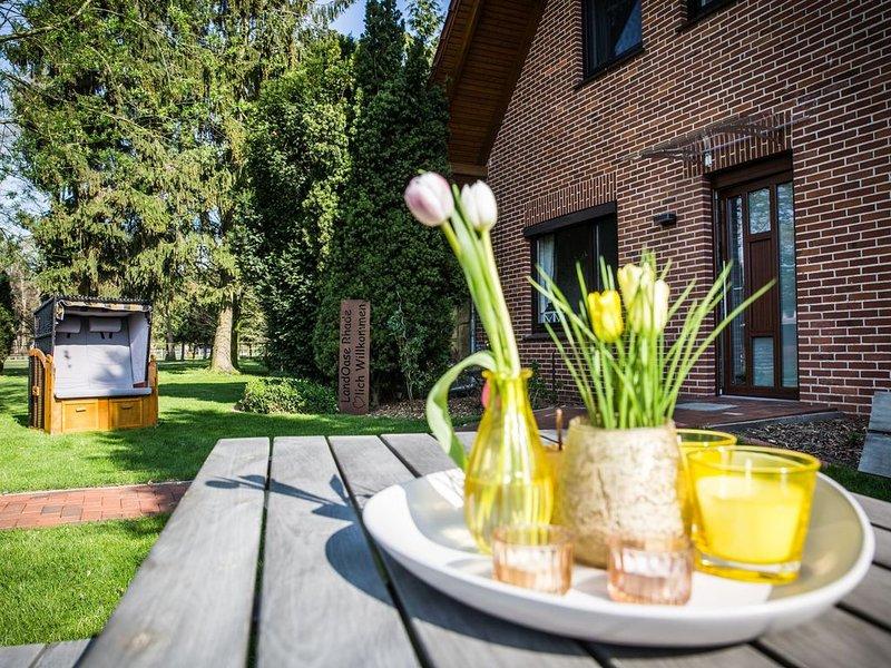 LandOase Rhade - Wohlfühlen im Grünen, alquiler de vacaciones en Oldenburg