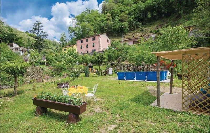 2 Zimmer Unterkunft in Bagni di Lucca -LU-, location de vacances à Montefegatesi