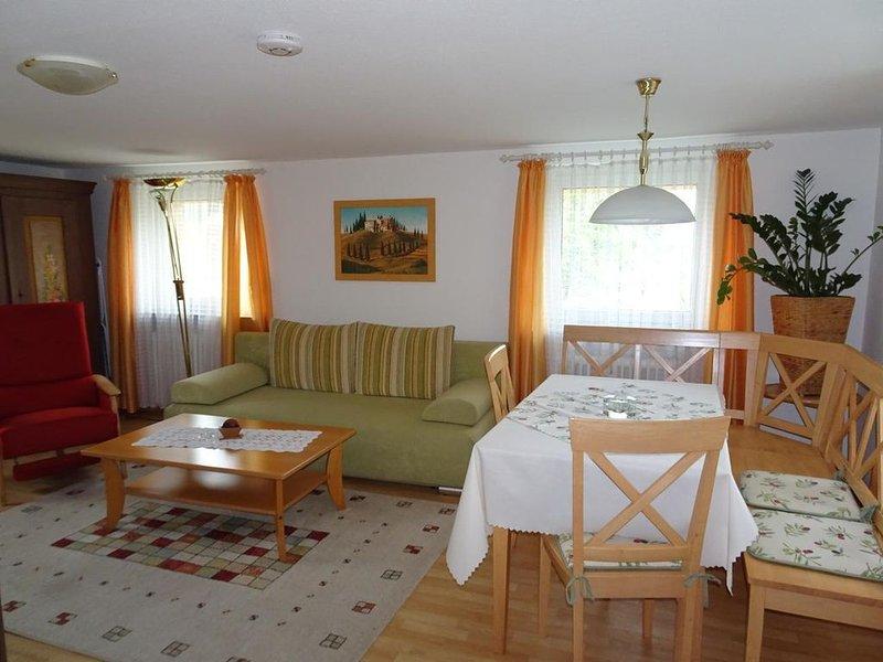 Ferienwohnung Bad Kissingen für 1 - 3 Personen - Ferienwohnung, location de vacances à Schonau an der Brend