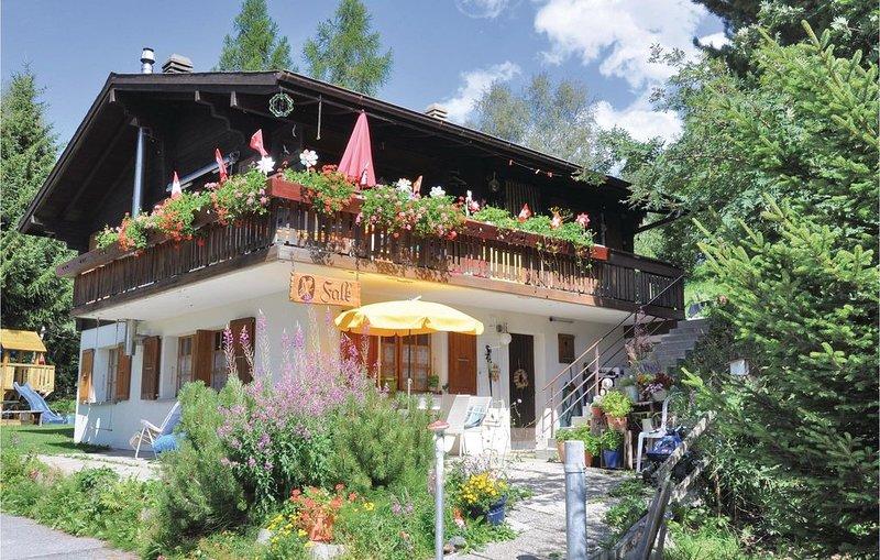 2 Zimmer Unterkunft in Bürchen, location de vacances à Eischoll