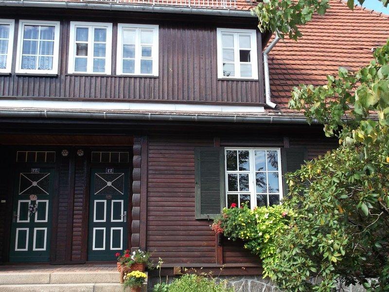 Wohnen im Holzhaus der zwanziger Jahre, holiday rental in Malschwitz