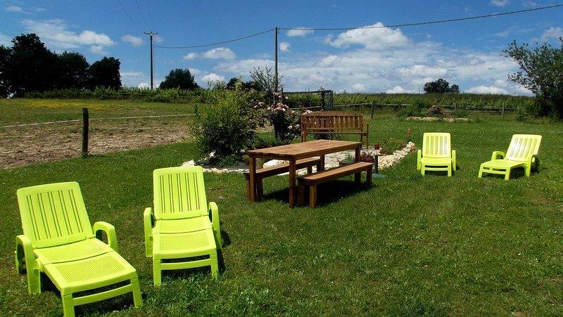 très beau gîte des cèdres, holiday rental in Tournon-d'Agenais