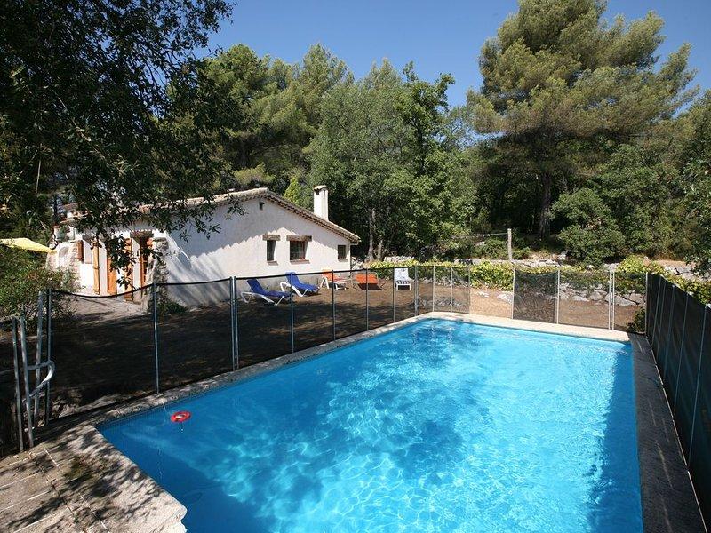 Villa  très calme 10 personnes - Piscine - wifi - Grand jardin en restanques, location de vacances à Tourrettes-sur-Loup