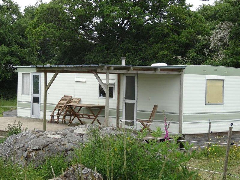 Mobil-home au Centre Equestre, location de vacances à Putanges-Pont-Ecrepin