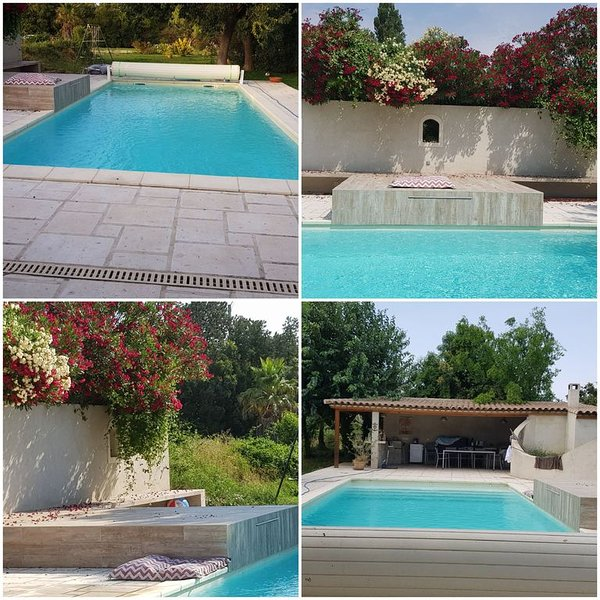 Villa avec piscine 160 m2 10 mn plage, holiday rental in St Chamas