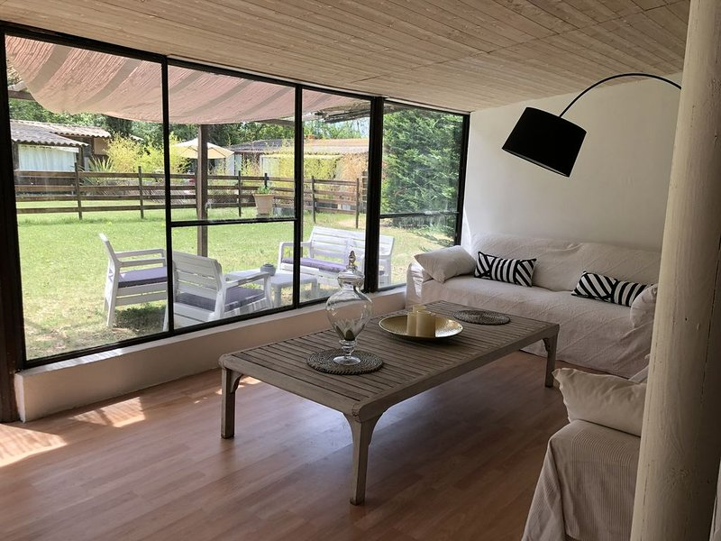Maison style «Lodge», vacation rental in Vaucluse