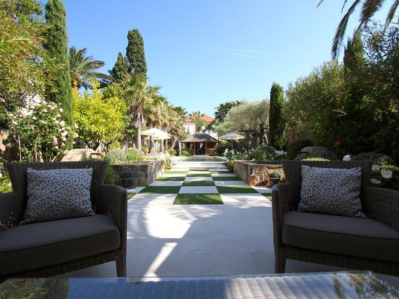 Belle propriété rénovée située à l'entrée du village de Saint-Tropez, location de vacances à Saint-Tropez