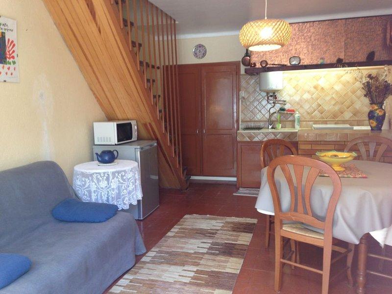Petite maison sans vis à vis dans le vieux village de Montesquieu des Albères., holiday rental in Villelongue-dels-Monts