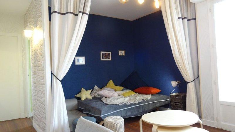 Studio moderne jolie vue, casa vacanza a Saint-Ennemond