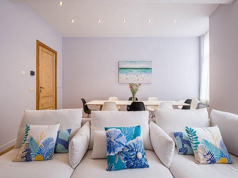 Villa de vacances à 800m de la mer/plage, pour 10 personnes, location de vacances à Ostende