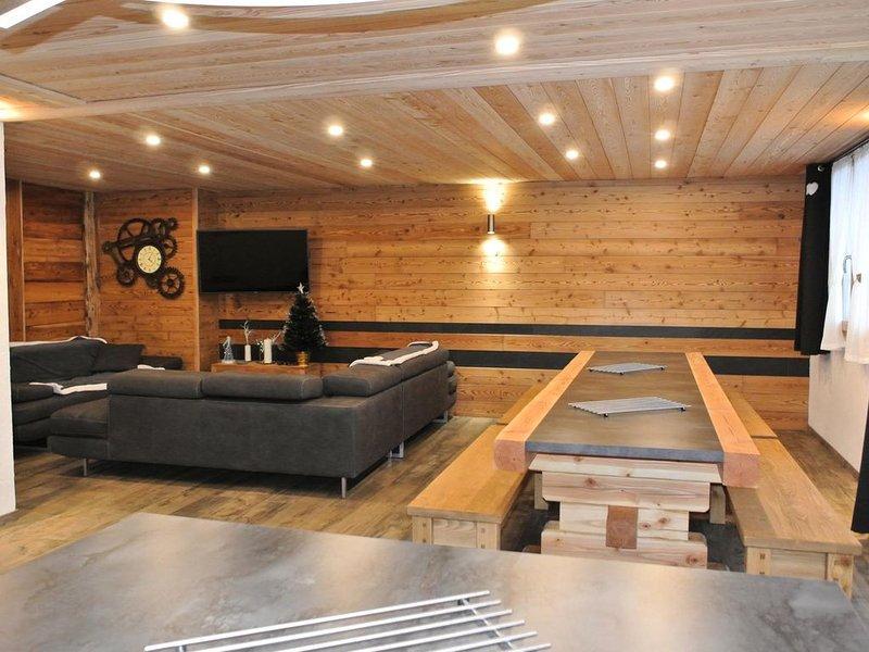 Maison 7 pièces 12 personnes centre station proche pistes - 7 Pièces 12 personne, alquiler de vacaciones en Ala di Stura