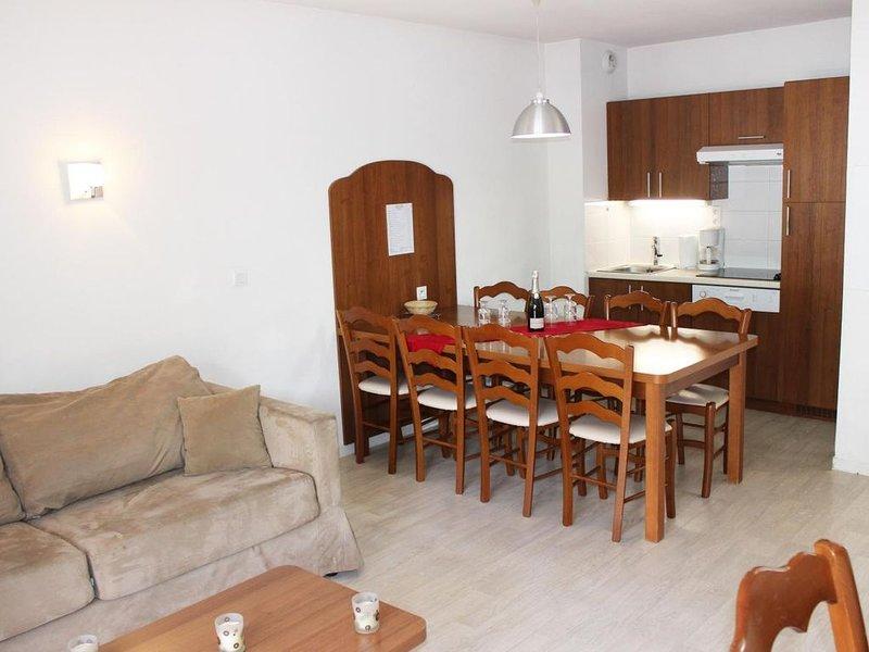 Wifi, à 50m des pistes de ski, vue pistes de ski, piscine, terrasse, télévision,, vacation rental in La Mongie