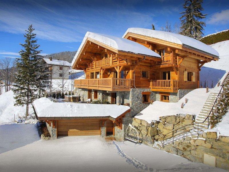 Chalet de luxe 5 étoiles La Clusaz - sauna, gym et jacuzzi - OVO Network, vacation rental in La Clusaz