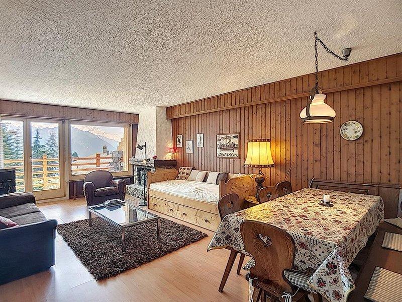 Appartement 2 pièces idéalement situé au premier étage d'un immeuble, au départ, location de vacances à Verbier