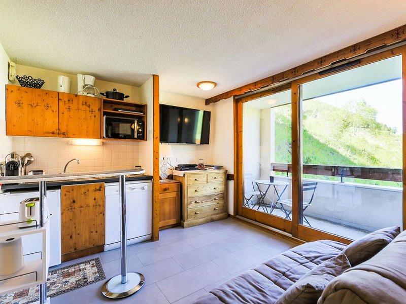 T2 30m², 3 etoiles, 4/5 pers, accès direct aux pistes, Les Deux Alpes, alquiler vacacional en Mont-de-Lans