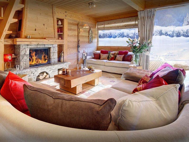Chalet contemporain 4 étoiles - proche stations de ski - OVO Network, holiday rental in Saint-Jean-de-Sixt