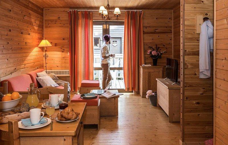 Résidence Odalys Les Chalets d'Evian - 3 Pièces 6 Personnes, holiday rental in Evian-les-Bains