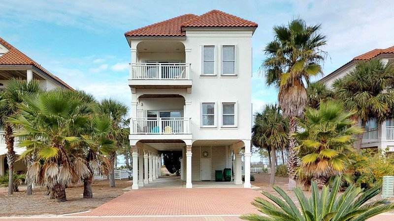 FREE BEACH GEAR! East End, Pets OK, Beach View, Elevator, Wi-Fi, 4BR/4.5BA 'Star, vacation rental in Carrabelle