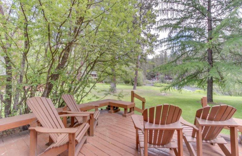 Metolius River Resort Cabin 10, aluguéis de temporada em Camp Sherman