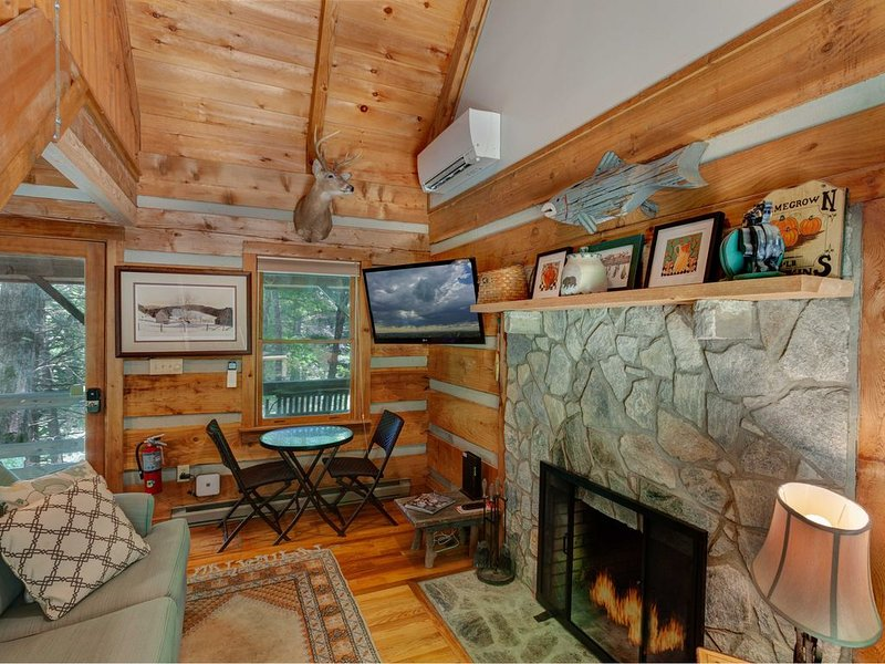 Cozy Cabin In Valle Crucis, Hot Tub, Creek, Fire Pit, Watauga River Access!, holiday rental in Sugar Grove