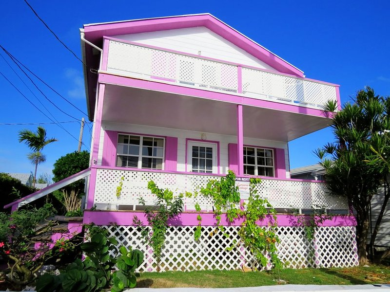 Lantana: Lighthouse view with a generator!, holiday rental in Marsh Harbour