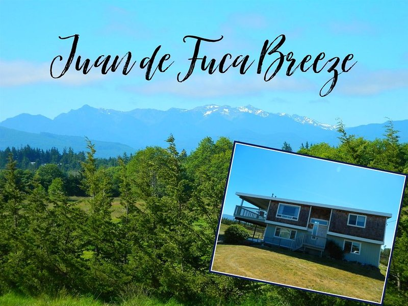 2 Story House, Near Water, Mountain Views, Pet Friendly!  Family Friendly, Water, holiday rental in Sequim