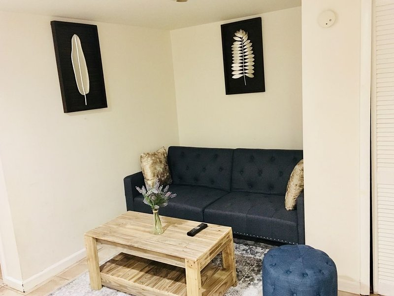 Cozy one bedroom basement., holiday rental in Hyattsville