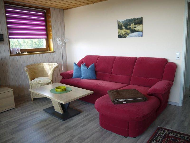 Nord-Schwarzwald ****2-Raumappartement**** Dieter Hoffmann, Freudenstadt-Kniebis, holiday rental in Baiersbronn