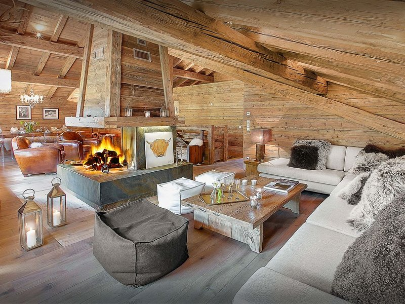 Vaste et luxueux chalet, proximité pistes et village, wifi - OVO Network, vacation rental in La Clusaz