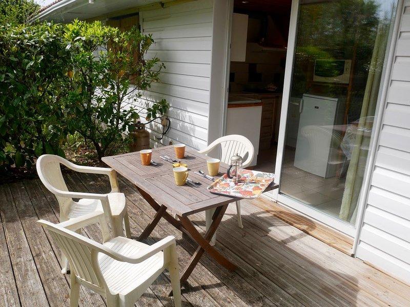 Appartement dans villa plain-pied proche de la plage, location de vacances à Labenne