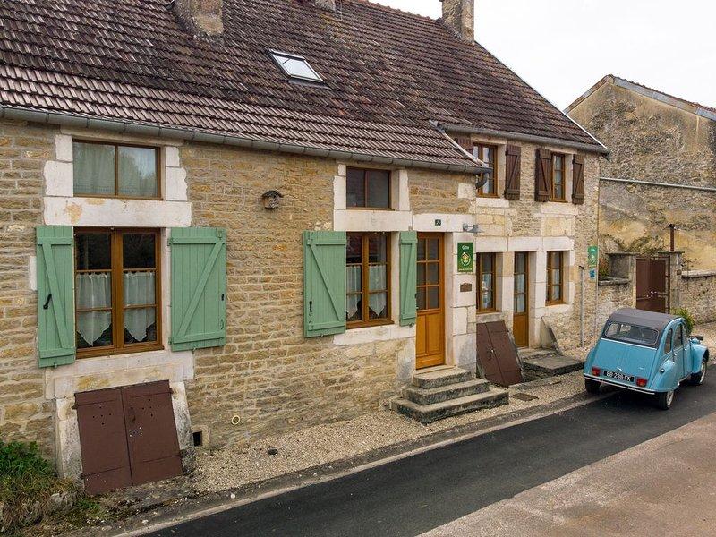 Les éco-gîtes de Rochetaillée, Gite N°2 ' TRUDONT ', holiday rental in Arc-en-Barrois