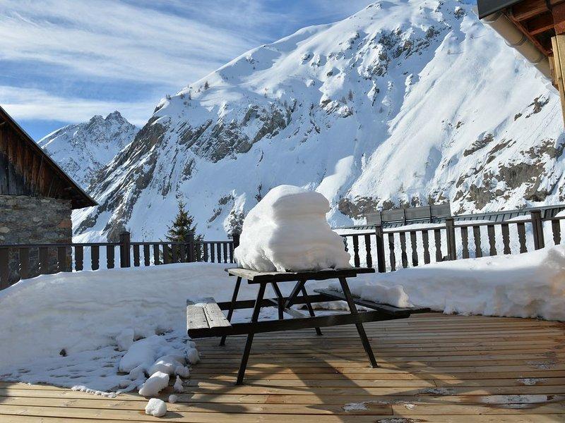 Charme et authenticité sont les Maîtres mots de notre maison confortable,, location de vacances à Villar-d'Arêne