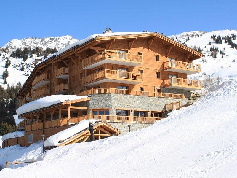 Arc 1800 Iseran, piscine chauffée, ski aux pieds, parking couvert, grand balcon, holiday rental in Les Arcs